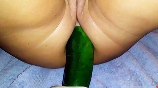 huge cucumber in eradicate affect ass 2