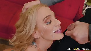 mature inked slut Sarah Jessie ass fucked and gets a consequential facial