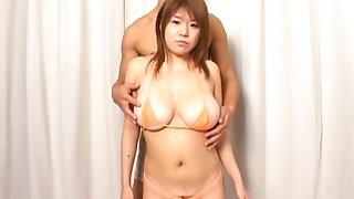 Asian doll has upfront Japanese tits