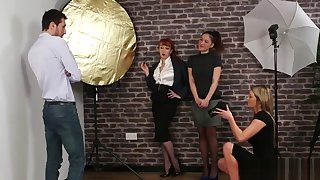 Cfnm photographer jerks