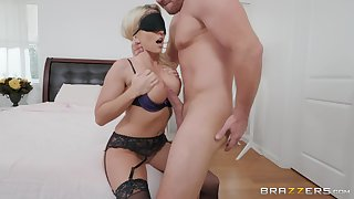 jumping on a unafraid friend's cock is the favorite lark be advisable for Christie Stevens,