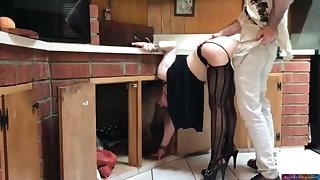 COUGAR stuck close to the larder drilled by neighbor (pin)