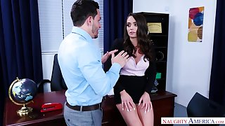 Ashly Anderson Crazy Office Sex