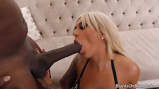 Blond Hair Girl Relating to Big Melons And Rear End Gets Ana - brandi bae