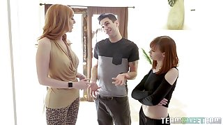 a toff enjoys a threesome with Alexa Nova coupled with Lauren Phillips