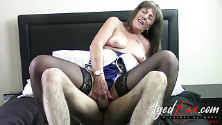 AgedLovE British Grown up Fucked Absolutely Hardcore