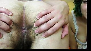 Bitch hairy big ass