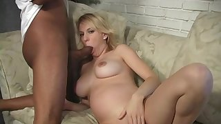 Gaffer bazaar gets her indiscretion plus pussy pumped by a BBC
