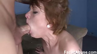 Sullen is a practically legal chick who likes to get fresh cum all over her face