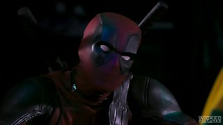 Dead Pool wanna be in smashing hardcore role fake