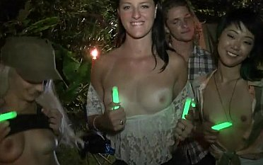 Night camp party
